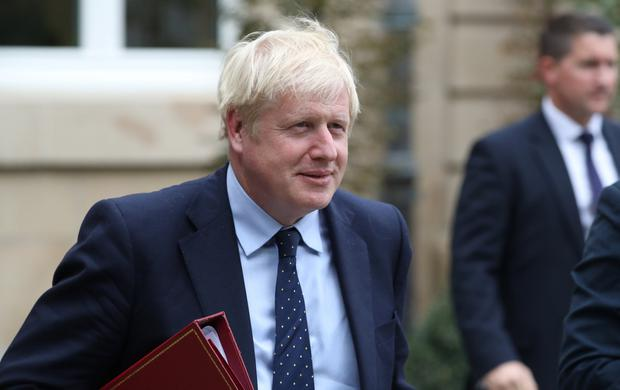 Boris Johnson: His strategists will be rubbing their hands over opinion polls. Picture: Reuters