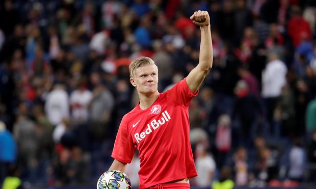 Man Utd To Loan Erling Haaland After Signing In January