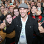 Greg O'Shea was mobbed by fans at the first day of the Ploughing Championships. Picture: Collins