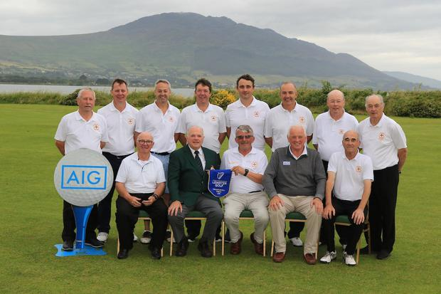 Experience: Cill Dara, winners of the AIG Pierce Purcell Shield Leinster Final. Photo: Golffile | Thos Caffrey