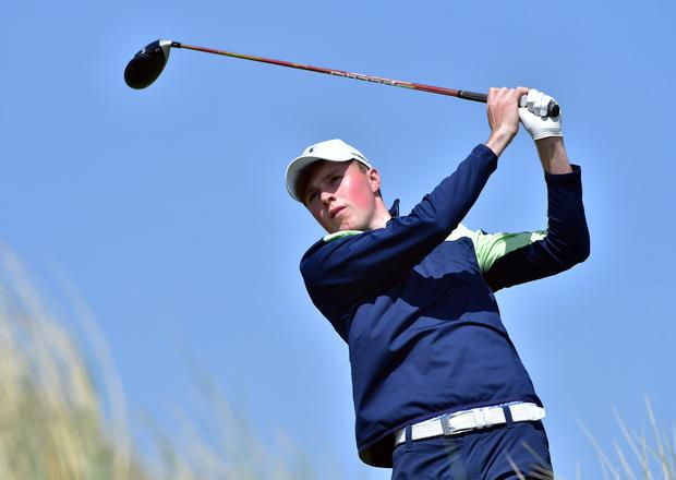 Impressive start: Mark Power tied for ninth on his Wake Forest debut. Photo: Pat Cashman