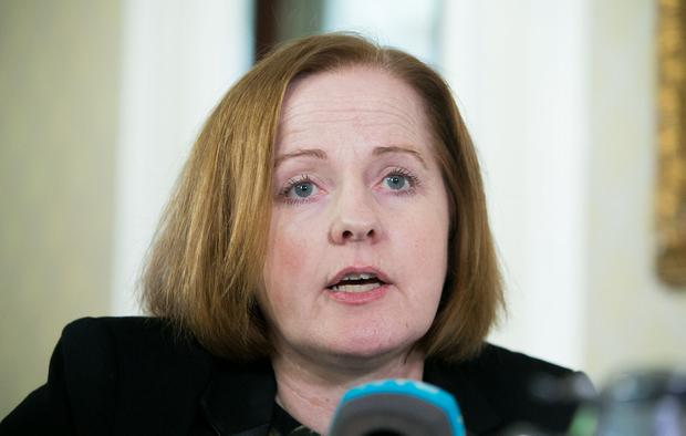 Scandal: Ruth Coppinger revealed a shocking text exchange between one tenant and her landlord. Picture: Collins