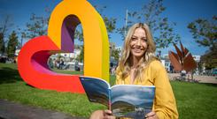 Broadcaster Bláthnaid Treacy checks out the events planned for February. Photo: Eamon Aengus McMahon