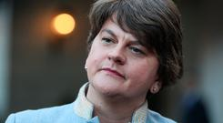Arlene Foster: The DUP leader may hold key to a breakthrough. Picture: PA