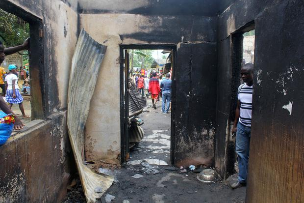 At least 27 children killed in Liberia school fire, say police