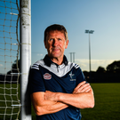 Jack O'Connor poses for a portrait during his unveiling as the new Kildare Football Manager. Photo: Sportsfile
