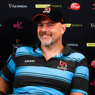 18 September 2019; Ulster head coach Dan McFarland in attendance during the Guinness PRO14 launch at Aviva Stadium in Dublin. Photo by Harry Murphy/Sportsfile
