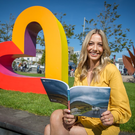 Popular broadcaster Bláthnaid Treacy pictured at the official programme launch of Galway 2020, in Eyre Square, Galway. Visit galway2020.ie to view or download the Galway 2020 European Capital of Culture programme and plan your journey to the edge of Ireland and cultural heart of Europe.