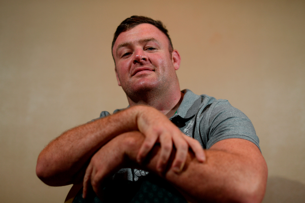 Dave Kilcyone is pictured following an Ireland Rugby press conference at the Yokohama Bay Sheraton Hotel and Towers, Yokohama, Japan. Photo: Ramsey Cardy/Sportsfile