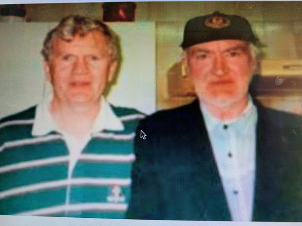 Joseph Tuohy pictured with Brian Boylan