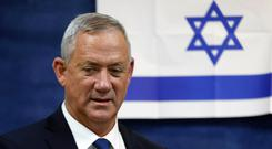 Changing times: Leader of Blue and White party, Benny Gantz. Photo: Reuters