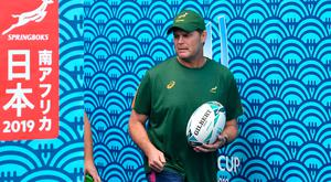 South Africa's head coach Rassie Erasmus