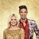David James with his dance partner Nadiya Bychkova (Ray Burmiston/BBC)
