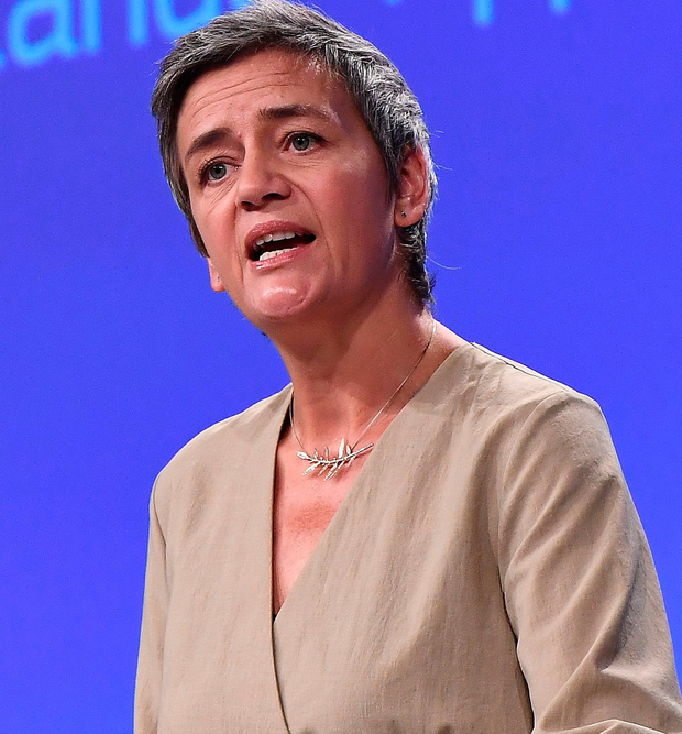 Crusade: Margrethe Vestager is taking on corporate tax. Photo: Getty Images
