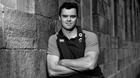 James Ryan poses for a portrait following an Ireland Rugby press conference. Photo by David Fitzgerald/Sportsfile