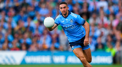 Blue blood: James McCarthy is 30 next year and has undergone a number of surgeries but he has no intention of calling time with Dublin any time soon. Photo by Eóin Noonan/Sportsfile