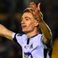 Dundalk's Daniel Kelly celebrates scoring his side's winner against Waterford. Photo: Sportsfile