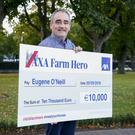 Eugene O'Neill takes the title of AXA Farm Hero and a prize fund of €10,000