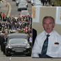The funeral of Brendan Kilduff (inset) was held today