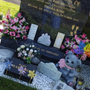 Items were stolen from Tmara-Rose's grave