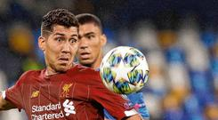 Roberto Firmino is fast becomming a key player for Brazil. Photo: Gregorio Borgia/AP Photo