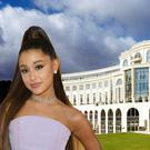 Ariana Grande has checked into the Powerscourt Hotel in Co Wicklow