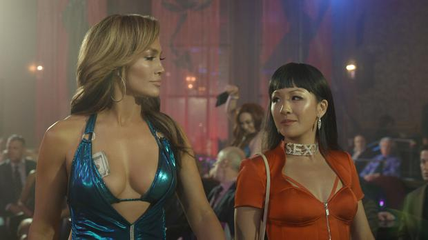 Jennifer Lopez and Constance Wu star in HUSTLERS
