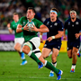 22 September 2019; CJ Stander of Ireland makes a break during the 2019 Rugby World Cup Pool A match between Ireland and Scotland at the International Stadium in Yokohama, Japan. Photo by Brendan Moran/Sportsfile