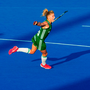 Chloe Watkins' crisp strike sealed the deal for the Irish women with time running out. Photo: Craig Mercer/Sportsfile