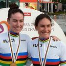 Katie George Dunlevy and Eve McCrystal have been in great form