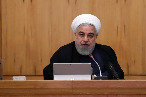 Iran's Rouhani blames foreign forces for causing 'insecurity' in the Gulf