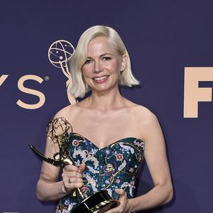 Actress Michelle Williams made an impassioned plea for gender pay equality as she accepted an award at the Emmys (Jordan Strauss/Invision/AP)