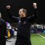 23 September 2019; Dundalk head coach Vinny Perth celebrates at the final whistle following the SSE Airtricity League Premier Division match between Dundalk and Shamrock Rovers at Oriel Park in Dundalk, Co Louth. Photo by Stephen McCarthy/Sportsfile
