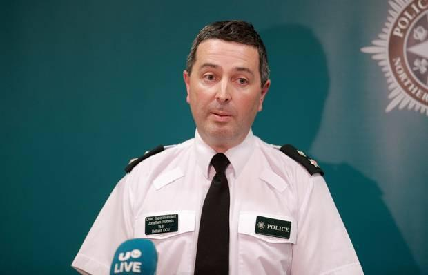 Chief Superintendent Jonathan Roberts. Photo: Kevin Scott