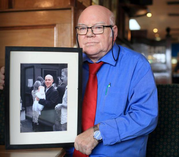 Brian Fetherston wants justice for his son Ken who was murdered 10 years ago. Photo: Frank McGrath