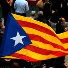 'Major protests are expected in the coming weeks when Spain's Supreme Court issues its verdict in the trial of 12 ex-Catalan officials and activists charged for attempting to establish an independent Catalan republic in 2017.' Photo: AP/Manu Fernandez