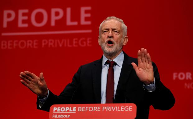 Resign for misleading Britain, Labour's Corbyn tells UK PM Johnson