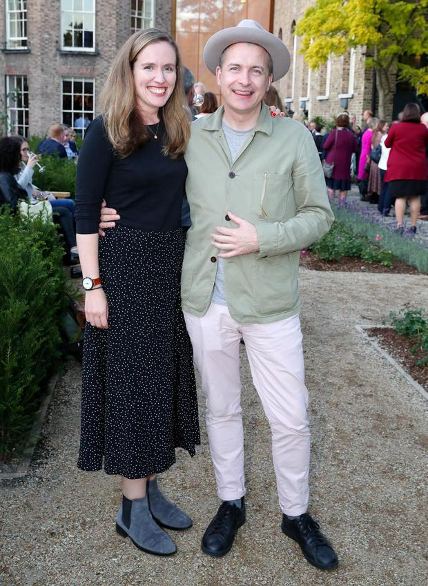 Nicola Brady and Eoin Higgins at the preview of the Museum of Literature of Ireland (MoLI). Picture: Marc O'Sullivan