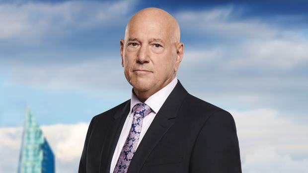 Claude Littner is one of Lord Sugar's advisers on The Apprentice (BBC)