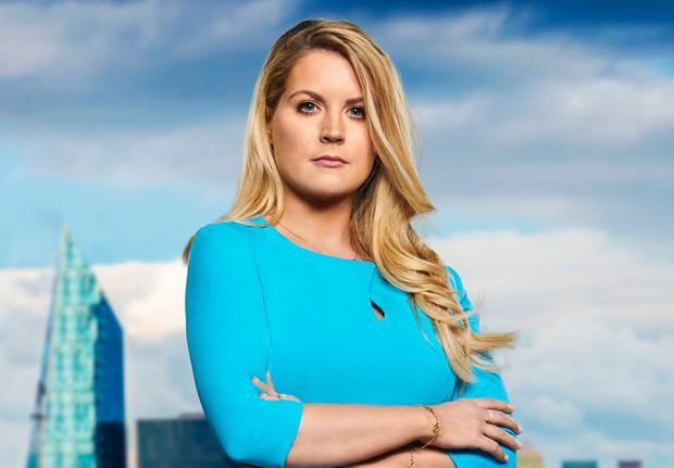 Dubliner Pamela Laird said in a post on Instagram that she hoped she had 'the luck of the Irish' on The Apprentice. Photo: BBC