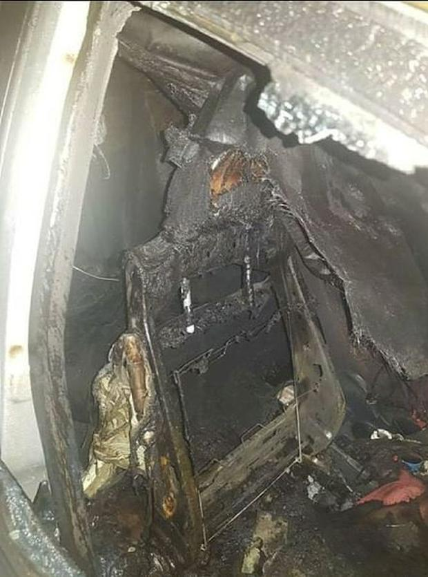 A woman's car was set alight outside her home in Cabra in the early hours of Sunday morning