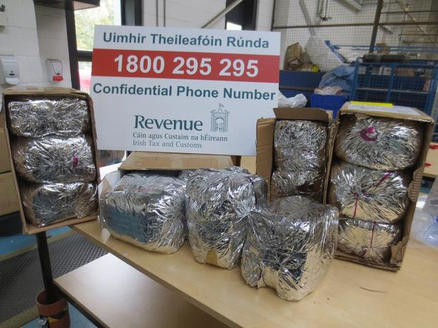 Revenue have seized exotic drugs, native to the Horn of Africa, worth €27,000.