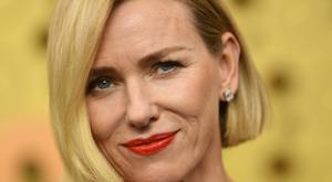 British actress Naomi Watts arrives for the 71st Emmy Awards at the Microsoft Theatre in Los Angeles on September 22, 2019. (Photo by VALERIE MACON / AFP)