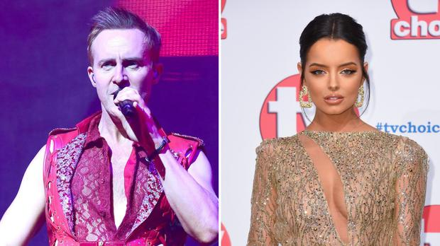 Steps singer Ian 'H' Watkins and Love Island star Maura Higgins are confirmed for Dancing On Ice 2020 (PA)