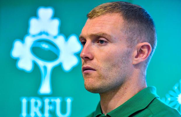 Keith Earls will relish the chance to show Joe Schmidt that he should be a front-liner. Photo: Brendan Moran/Sportsfile