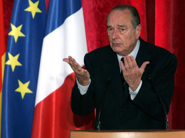 Charming: French President Jacques Chirac in 2005. Pictures: Reuters