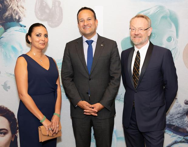 An Taoiseach Leo Varadker met with actor Jared Harris (Chernobyl, Mad Men) at an event in Los Angeles organised by Screen Ireland and Enterprise Ireland to celebrate US Ireland partnerships across the film, television and animation industry. 
