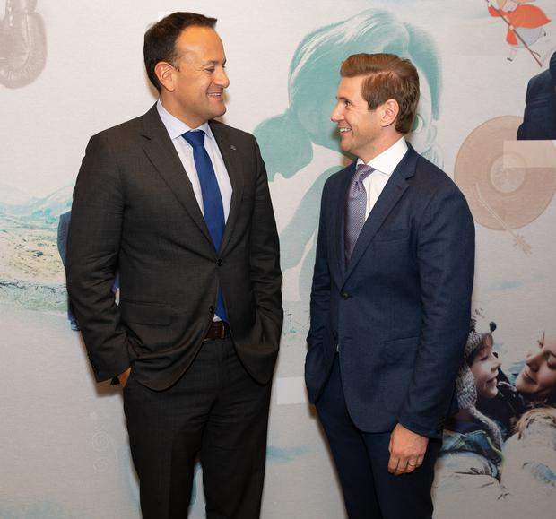 An Taoiseach Leo Varadkar met with Irish actor Alan Leech (Downton Abbey) at an event in Los Angeles organised by Screen Ireland and Enterprise Ireland to celebrate US Ireland partnerships across the film, television and animation industry.