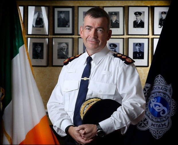 Under the spotlight: Garda Commissioner Drew Harris will be defined on his ability to implement these plans. Photo: David Conachy