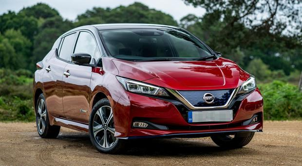 Rising: Close to 3,000 new all-electric cars like the Nissan Leaf have been sold this year